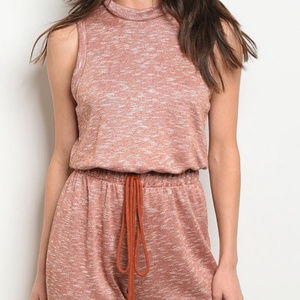 Freeandspirit Other - Rose Drawstring Sleeveless Jumpsuit